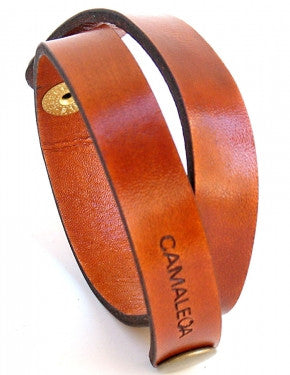 UNISEX STRIP LEATHER BUCKLE