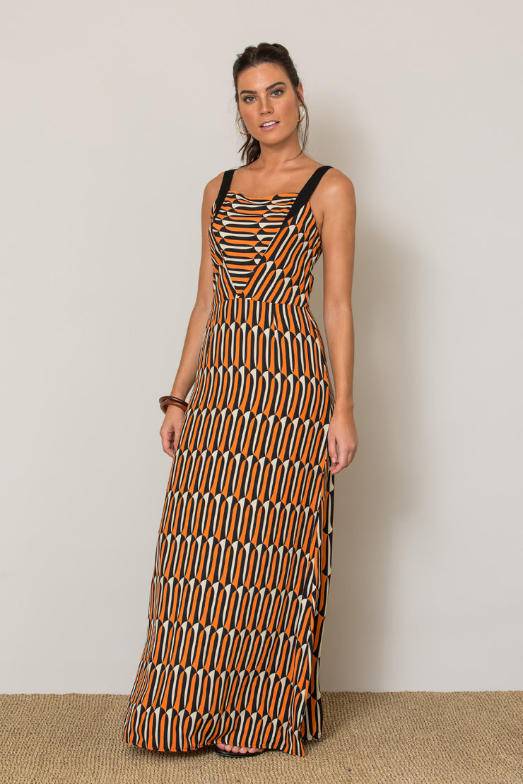 VF1880 - TotemCuba - Salina Dress - FloridaOrange
