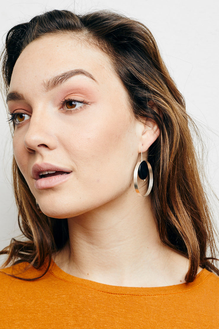 Marcia Hoop  Earrings - Small