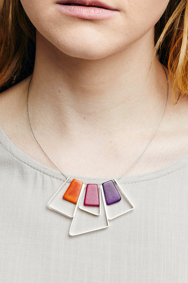 Marcia Tri Necklace - Mini