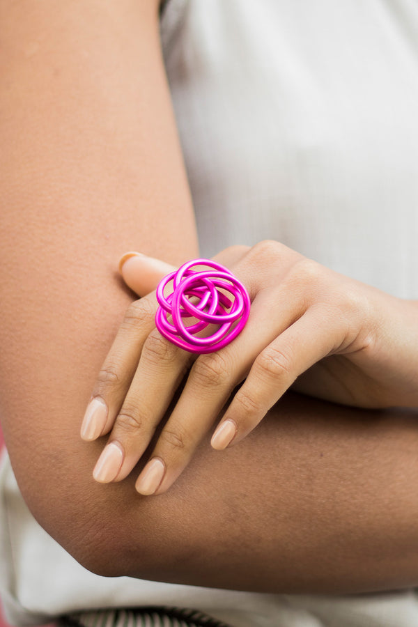 MONICA SCRUNCH RING