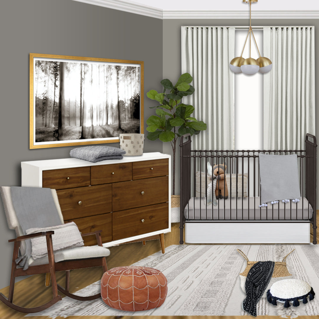 joanna gaines nursery for baby son crew curated nest i heart joanna version