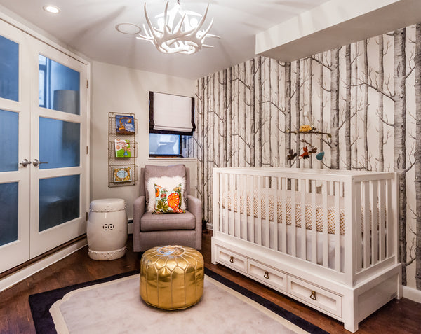 Curated Nest, Custom Design Baby Nursery Rooms, Blog, The World's Worst Client - and one you can't fire, Erin Coren's Baby Son Nolan's Neutral Gender Nursery Room