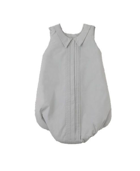 Curated Nest: Nurseries and Design - Hush Little Baby Pleats Sleepsack - Soft Grey - Gifts