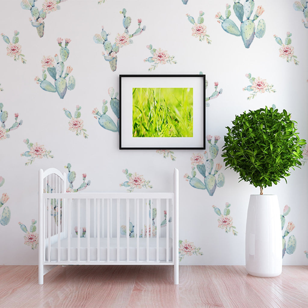 Curated Nest: Nurseries and Design - Lucca Decals - wallpaper