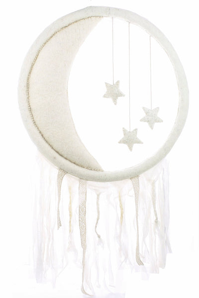 Fiona Walker Crescent Moon & Star Wall Hanging