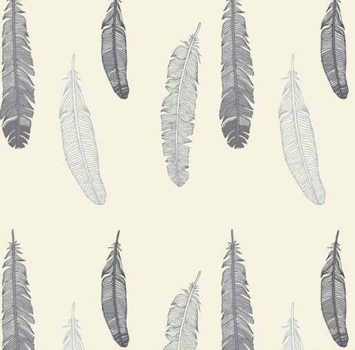 Feathers Wallpaper - Curated Nest