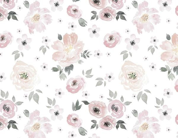 Soft Peonies Wallpaper - Curated Nest