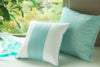 Oilo Band Pillow - Aqua