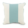 Curated Nest: Nurseries and Design - Oilo Band Pillow - Aqua - pillow