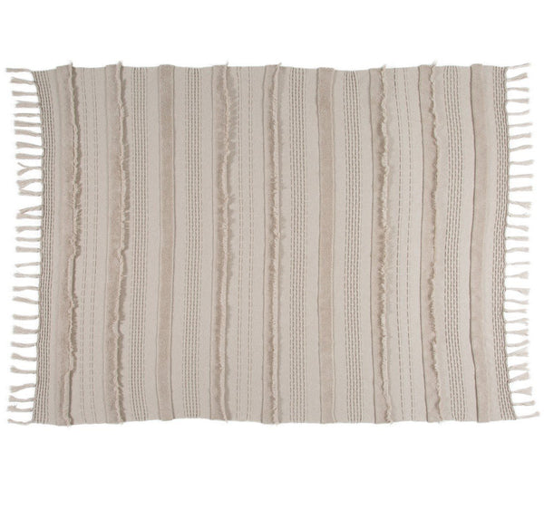 Curated Nest: Nurseries and Design - Air Knit Blanket - Dune White - Blanket