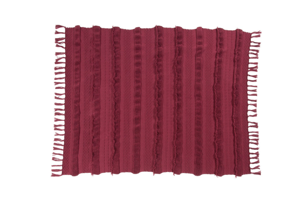 Curated Nest: Nurseries and Design - Air Knit Blanket - Savannah Red - Blanket