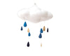 Curated Nest: Nurseries and Design - Luxe Cloud Mobile with Rainstorm - Accessories