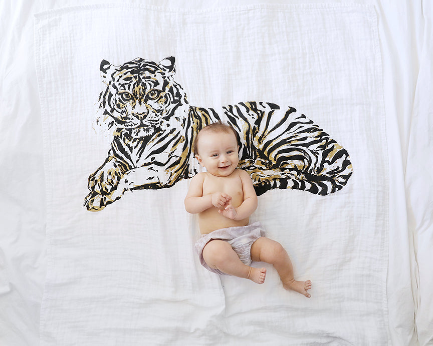 Tiger Love Organic Swaddle