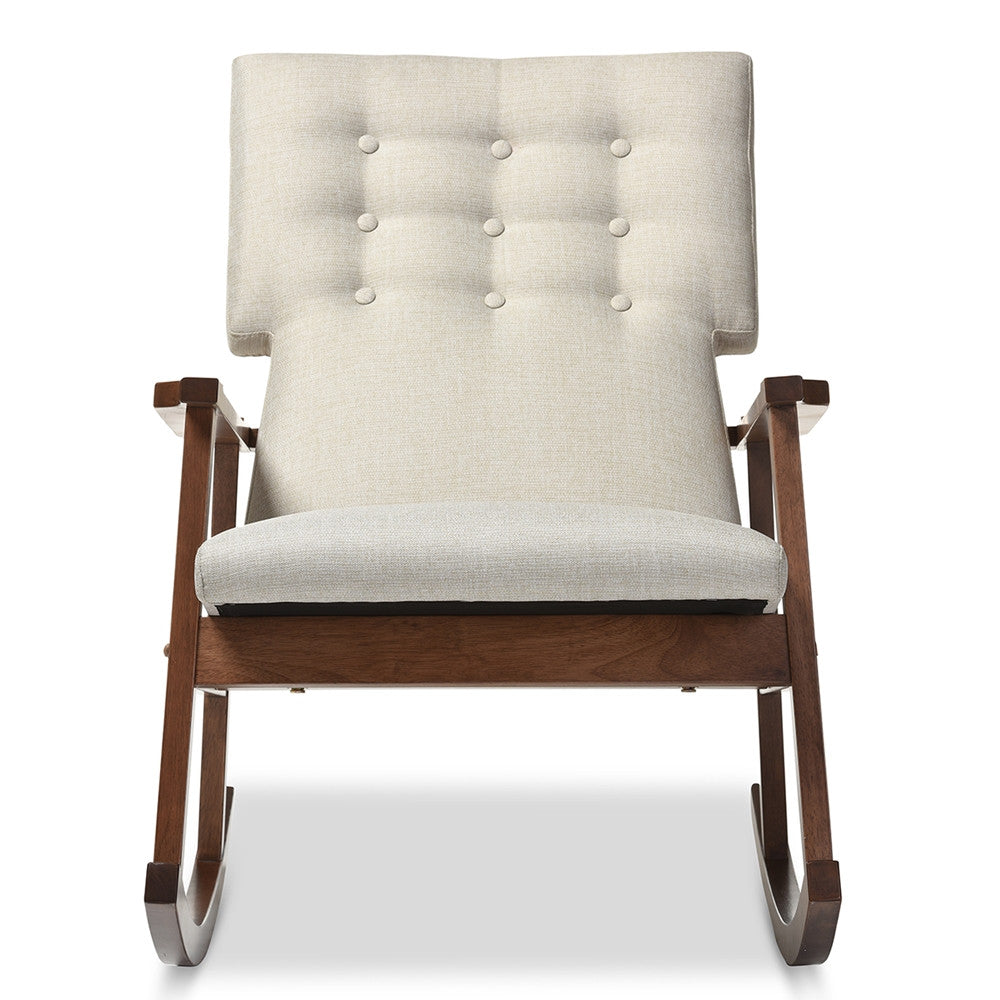 Mid-Century Modern Rocking Chair (multiple colors)