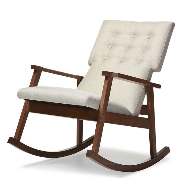 Curated Nest: Nurseries and Design - Mid-Century Modern Rocking Chair - Glider