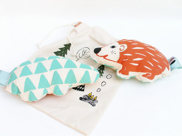 Curated Nest: Nurseries and Design - Hedgehog Crinkle Rattle Toy - Gifts