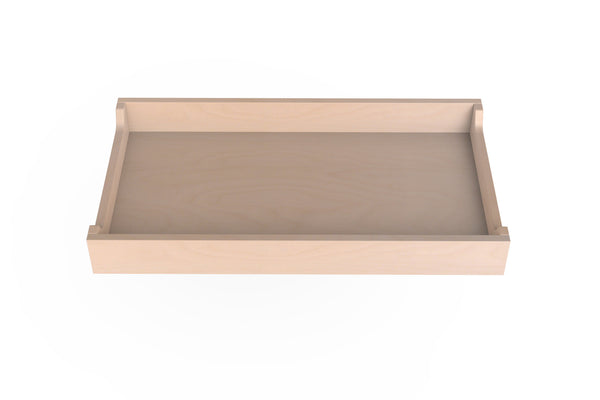 Spot on Square Changing Tray - Birch