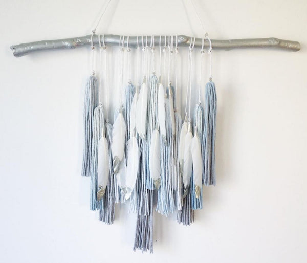Curated Nest: Nurseries and Design - Boho Ombree Tassel Wall Decor - wall decor