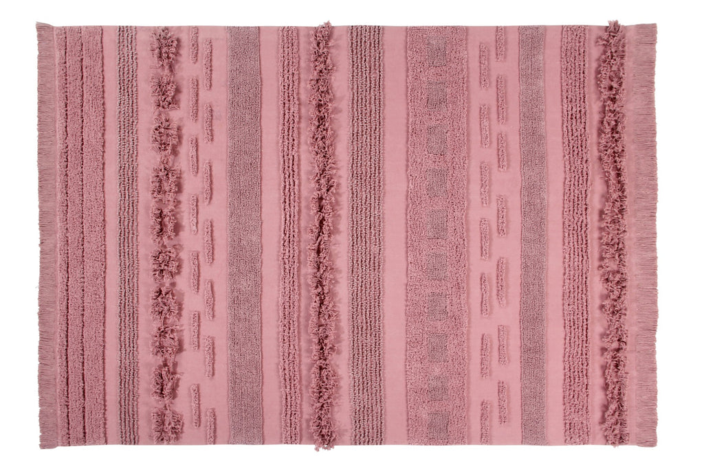 Curated Nest: Nurseries and Design - Air Washable Rug - Canyon Rose - Rug