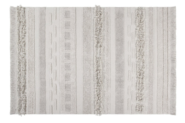 Curated Nest: Nurseries and Design - Air Washable Rug - Dune White - Rug