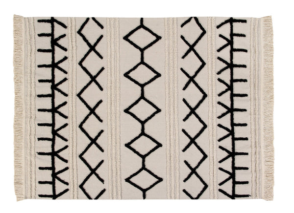 Curated Nest: Nurseries and Design - Bereber Canvas Washable Rug - Rug