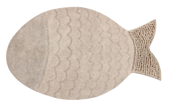 Curated Nest: Nurseries and Design - Big Fish Washable Rug - Rug