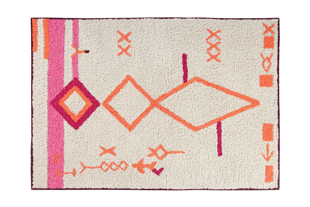 Curated Nest: Nurseries and Design - Saffi Moroccan Washable Rug - Rug