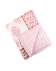 Curated Nest: Nurseries and Design - Pink City Natural Cotton Quilt - Blanket