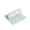 Curated Nest: Nurseries and Design - Oilo Aqua Changing Pad Cover and Topper - Changing pad cover