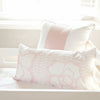 Curated Nest: Nurseries and Design - Oilo Capri Blush Lumbar Pillow - pillow