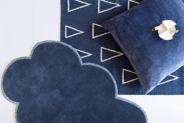 Silver Lining Cloud Rug - Stormy