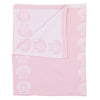 Curated Nest: Nurseries and Design - Dreaming in Pink Throw Blanket - Blanket