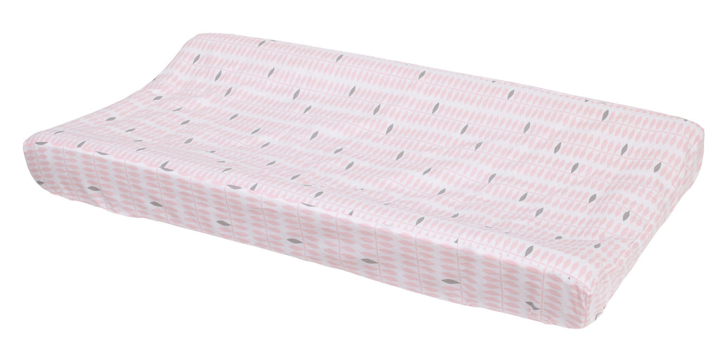 Curated Nest: Nurseries and Design - Dreaming in Pink Changing Pad Cover - Changing pad cover
