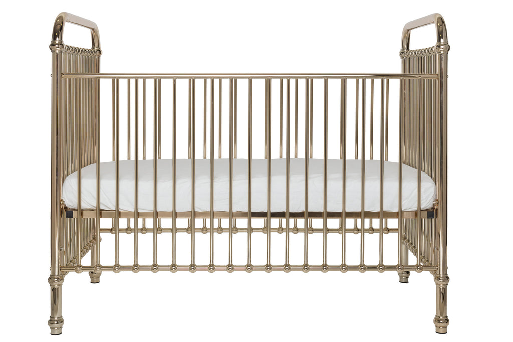 Ellie Rose Gold Crib - Curated Nest