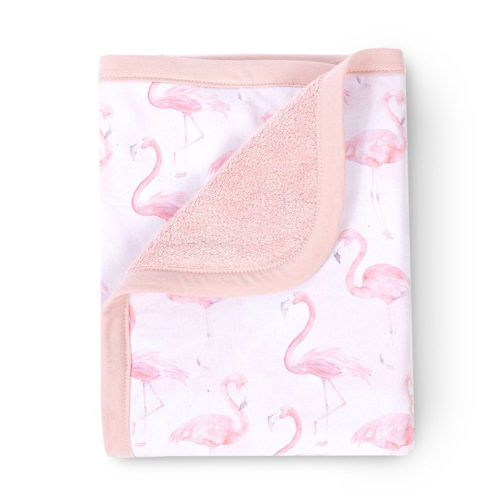 Curated Nest: Nurseries and Design - Oilo Flamingo Blanket - Blanket