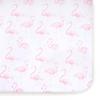 Curated Nest: Nurseries and Design - Oilo Flamingo Crib Sheet - Crib Sheet