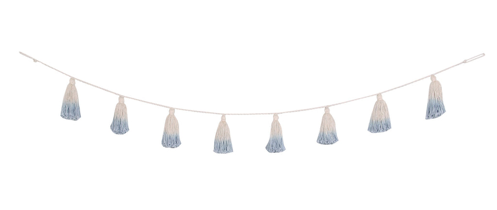 Tassel Garland - Soft Blue