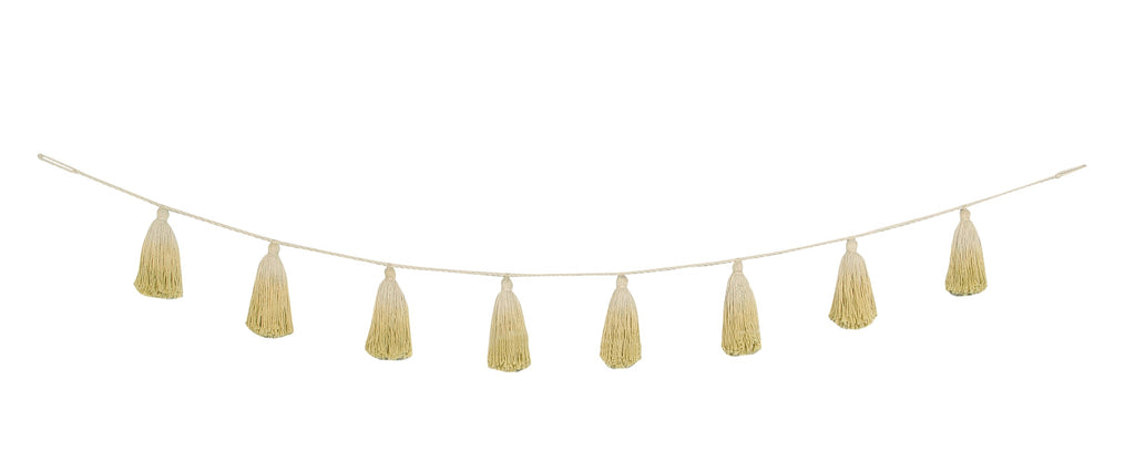 Tassel Garland - Yellow