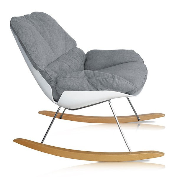Curated Nest: Nurseries and Design - Contemporary Nursery Rocking Chair - Glider