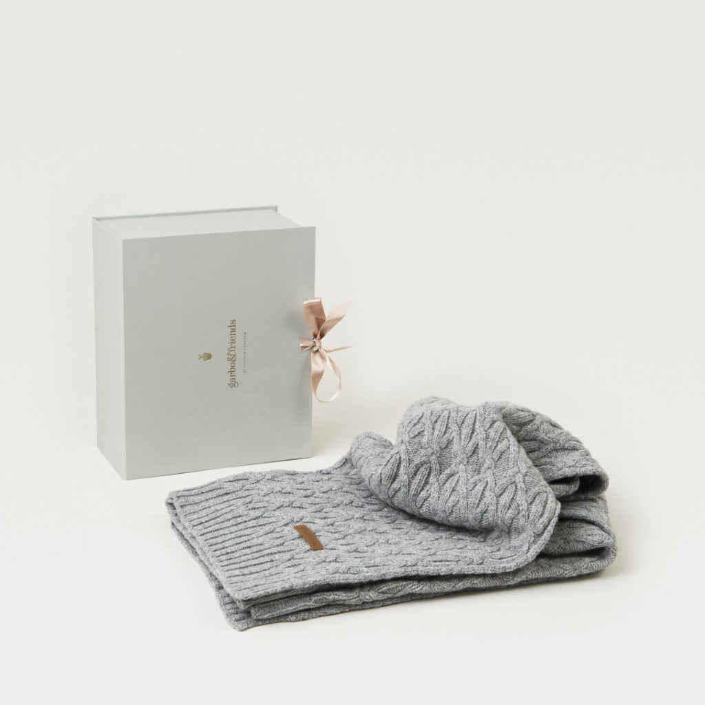 Curated Nest: Nurseries and Design - Knots Baby Blanket - Gifts