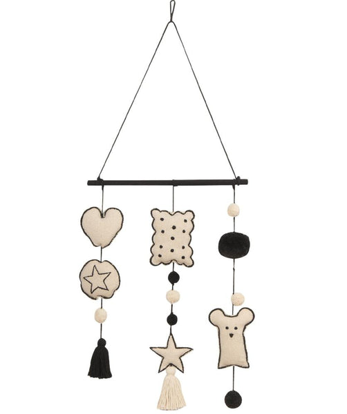Curated Nest: Nurseries and Design - Baby Bear Wall Hanging - wall decor