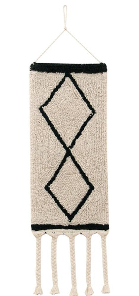 Curated Nest: Nurseries and Design - Bereber Beige Wall Hanging - wall decor