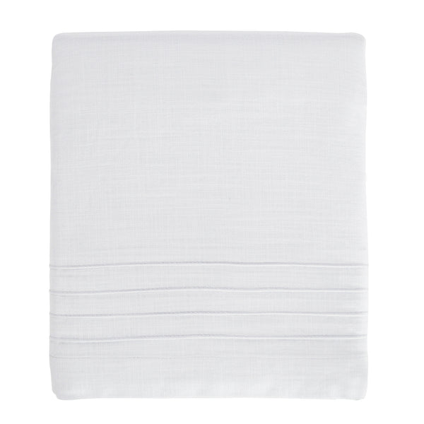 Curated Nest: Nurseries and Design - Pintuck White Crib Skirt - Crib Skirt