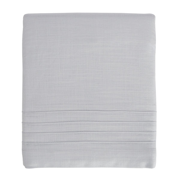 Curated Nest: Nurseries and Design - Pintuck Gray Crib Skirt - Crib Skirt
