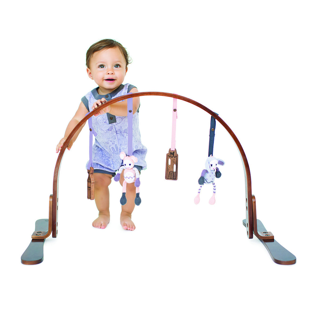 Curated Nest: Nurseries and Design - Fairytale Play Gym - Walnut Frame - Gifts