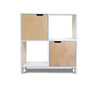 Hiya Bookshelf - White & Birch