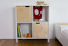 Curated Nest: Nurseries and Design - Hiya Bookshelf - White & Birch - Bookshelf