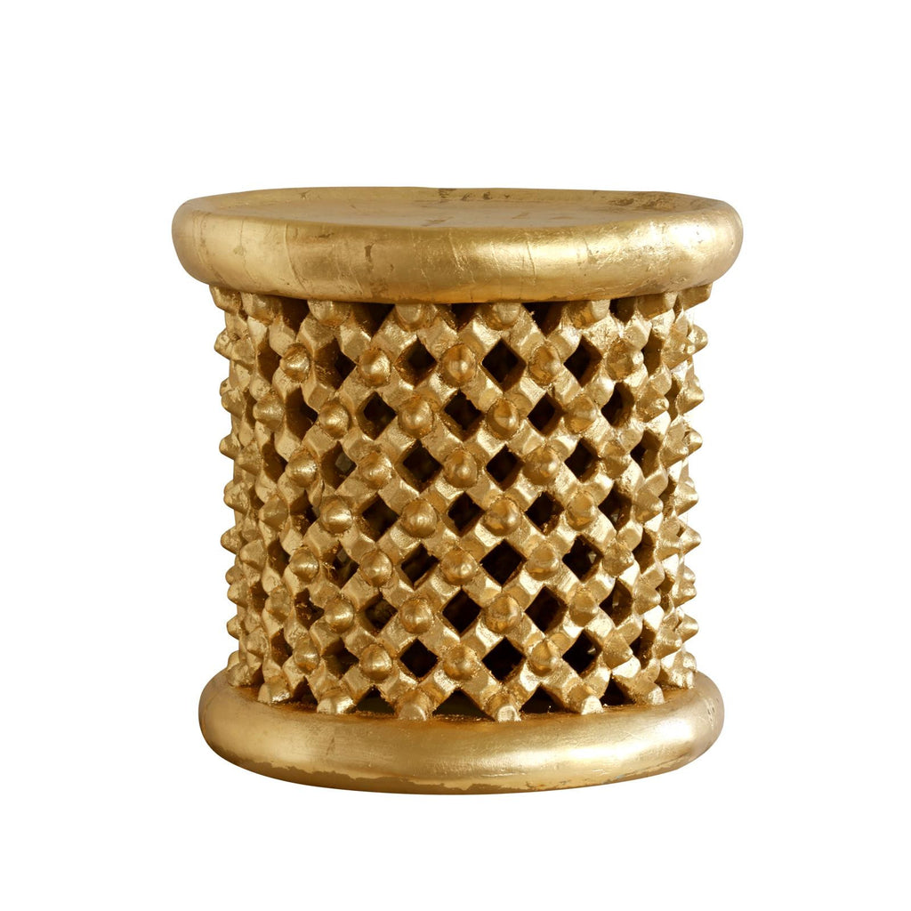 Kano Side Table - Gold