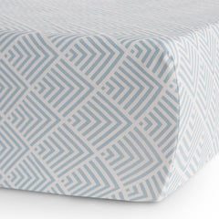 Oilo Kai Aqua Crib Sheet